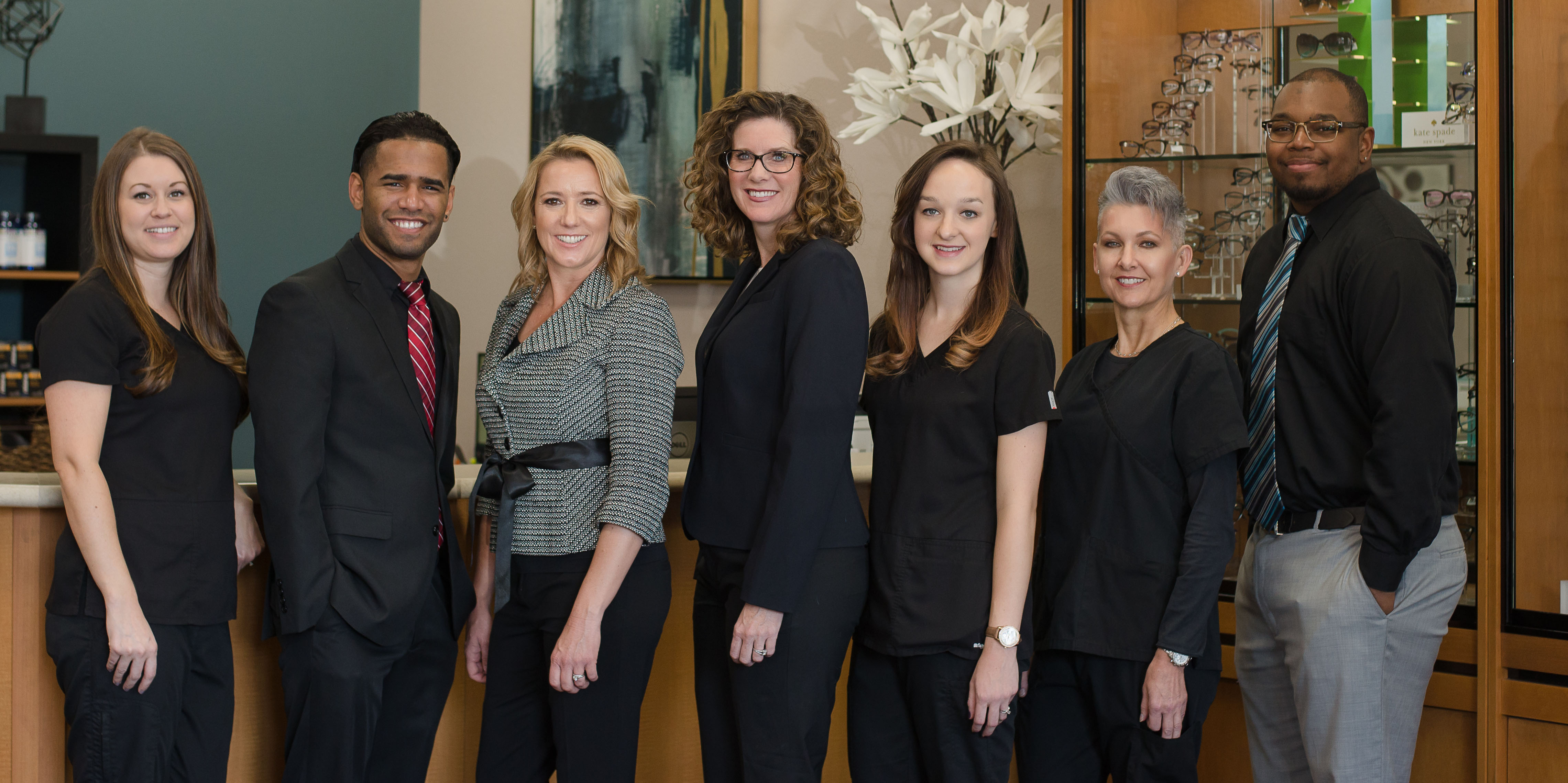 staff at Mallinger Eye Care